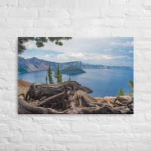 CRATER LAKE NATIONAL PARK - 24X36-16X20 Canvas Wrap Print