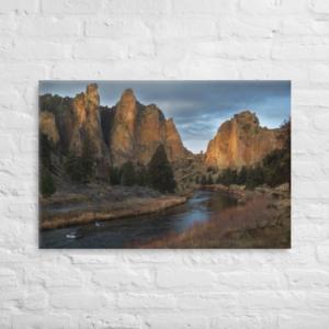 SMITH ROCK STATE PARK OREGON - 24X36-16X20 Canvas Wrap Print