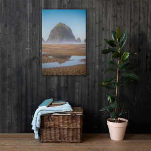 CANNON BEACH - 24X36 Canvas Wrap Print