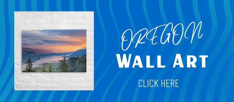 OREGON WALL ART