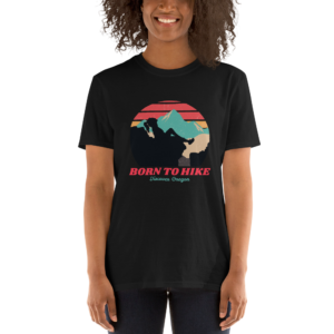 BORN TO HIKE - T SHIRT