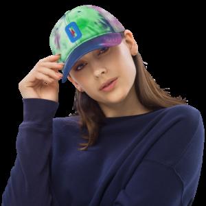 O (For Oregon) - Tie Dye Hat